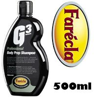 Farecla G3 Professional Body Prep Shampoo 500ml  Pre Polish Car Wash 7192