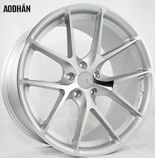 19X8.5 +35 AodHan Rims LS007 5X120 Silver Wheel Fit BMW X3 525 528 550 X-DRIVE