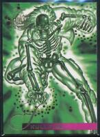 1995 Flair Marvel Annual Trading Card #101 Skullfire