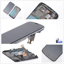 Original LG Google Nexus 4 E960 Display LCD Touchscreen Digitizer Schwarz Rahmen