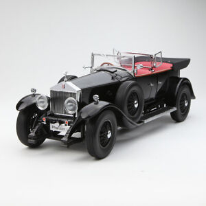 1:18 Scale Kyosho 1927 Rolls-Royce Phantom I Black Diecast Car Model