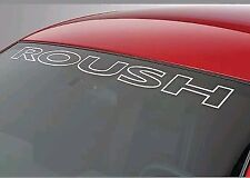 Ford Mustang ROUSH Windshield Vinyl Decal Sticker Logo 6 Different Colors