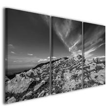 Quadri moderni Rocks to the sky bianco/nero stampe su tela canvas ® quality