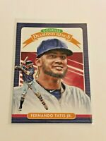 2020 Donruss Baseball Diamond Kings - Fernando Tatis Jr - San Diego Padres