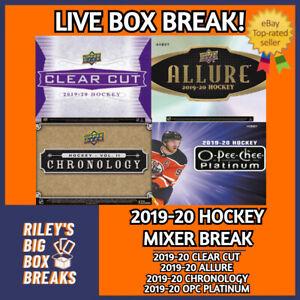 2019-20 UPPER DECK MIXER (x4) FOUR BOX BREAK #142 - PICK YOUR OWN TEAM!