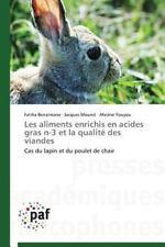 Les Aliments Enrichis en Acides Gras N-3 et la Qualite des Viandes by Youyou...