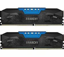 *NEW SEALD* PNY - Anarchy 2-Pack 16GB PC4-17000 DDR4 DIMM Desktop Memory Kit