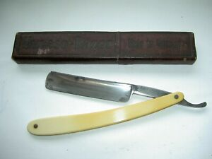 Vintage Solingen Straight Razor + Box