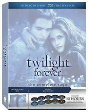 TWILIGHT FOREVER COMPLETE SAGA Blu-ray 5 Films New Moon Eclipse Breaking Dawn