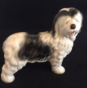 Old English Sheepdog Vintage Melba Ware England Figurine Ornament