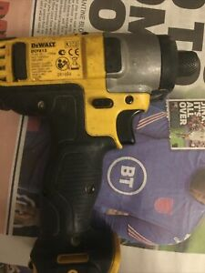 Dewalt XR 10.8V Impact Drill DCF 815 BODY ONLY Used Good Working Order