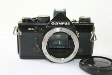 Olympus OM-2n Black 35mm SLR Film Camera Body Only. Tested Free Warranty.