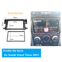 1 Set Dual DIN Car Stereo Radio Mounting Frame For 2005-2014 Suzuki Grand Vitara