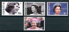 Kiribati 2006 MNH Queen Elizabeth II 80th Birthday 4v Set Royalty Stamps