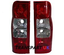 FORD TRANSIT MK7 REAR BACK LIGHT LAMP x2 LENS LEFT & RIGHT SIDE PAIR MK6 UPGRADE
