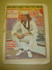 RECORD MIRROR 1975 SEP 20 ROD STEWART FACES 5000 VOLTS ALICE COOPER WHO