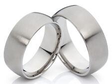 2 anillos de Bodas compromiso Titanio con Gravado Gratis