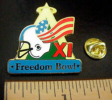 FREEDOM BOWL XI NCAA FOOTBALL UTAH / ARIZONA 1994 SOUVENIR TAIWAN PIN