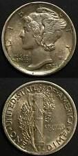1921 D Mercury Dime     Silver 10 cents Ten Denver Mint