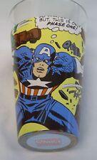 Captain America ~ of the Avengers ~ Wrap around Art Pint Glass