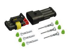 AMP Superseal Stecker Set 3-polig 0,35-0,50   KFZ, BOOT, LKW, Motorrad