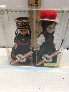 Rare Original Schneider Dolls - Germany (porcelain) & Switzerland Both Handmade