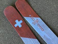 Shaggy's Ahmeek-105 Carbon skis patrol graphics 180cm .No bindings