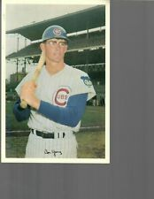 "1969 Cubs by Jewel Foods 6"" by 9"", Cubs Don Young, Very Good condition"