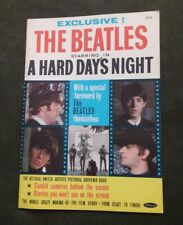 Vintage The Beatles starring in A Hard Days Night The Official Pictorial Book