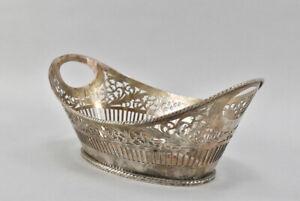 h11f03- 925er Sterling Silber Korbschale