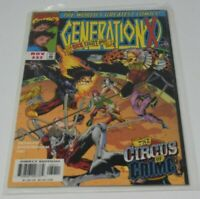 Vintage Marvel Comic Generation X November #32: The Circus Of Crime 1997