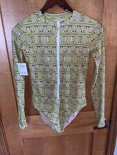 NWT Mott 50 Margherita Missoni Angela Green Tribal Print 1 Piece Swimsuit  Small