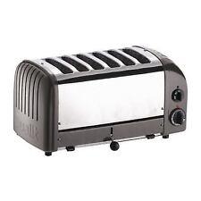 Dualit Bread Toaster 6 Slice Charcoal 60156 - E269