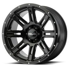 17 Inch Black Wheels Rims Ford Truck F 250 F 350 8x6.5 Lug Helo HE900 SINGLE