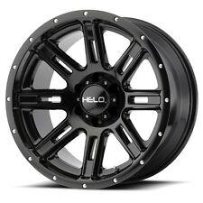 17 Inch Black Wheels Rims Ford Truck F 250 F 350 8x65 Lug Helo He900 Single