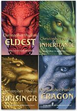 Christopher Paolini Collection The Inheritance Cycle Series 4 Books Set Eldest