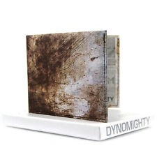 Dynomighty Tyvek Billfold Premium Wallet  - Scratched Metal   Recyclable Novelty