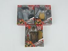 WWE Create a Superstar Accessory Pack lot of 3 Knight Referee Crime Fighter