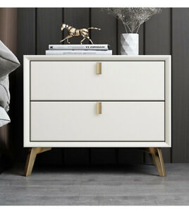 High Quality Solid Wood Nightstand with Drawers Bedside Table Dresse