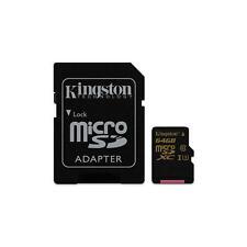 Tarjetas de memoria Kingston clase 10 para teléfonos móviles y PDAs con 64 GB de la tarjeta