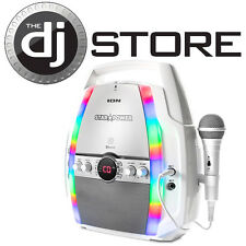 Ion Star Power Portable Karaoke System with CD Player & Bluetooth Streaming NEW