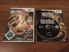 | NINTENDO Wii | DEADLY CREATURES | OVP | THQ |