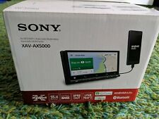 Sony XAV-AX5000 Apple Carplay and Android Auto with BLUETOOTH