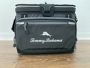 Tommy Bahama Zipperless Cooler Bag BackSaver Insulated Ice Bag