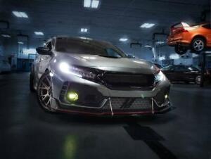 Honda Civic 10th ,Type R FK8,SI DRL+FOG lights(High beams+FOG) module 2016-2020