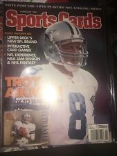 February 1996 Sports Cards Magazine Troy Aikman (GS2-22)