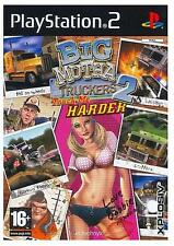 BIG MUTHA TRUCKERS TRUCK ME HARDER per PS2 PLAYSTATION 2! Con custodia e manuale