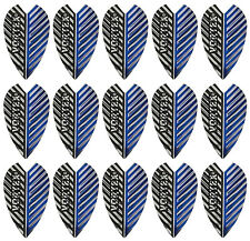 5 New Sets of Harrows Vortex Dart Flights - Blue Silver - Ships W/Tracking