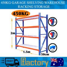 New 450kg Garage Shelving Warehouse Racking Storage Safety Pins Rack Factory