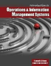 Introduction to Operations AND Information Management Systems